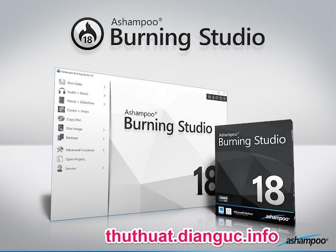 Download Ashampoo Burning Studio 18 Full Crack - Phần mềm ghi đĩa chuyên nghiệp