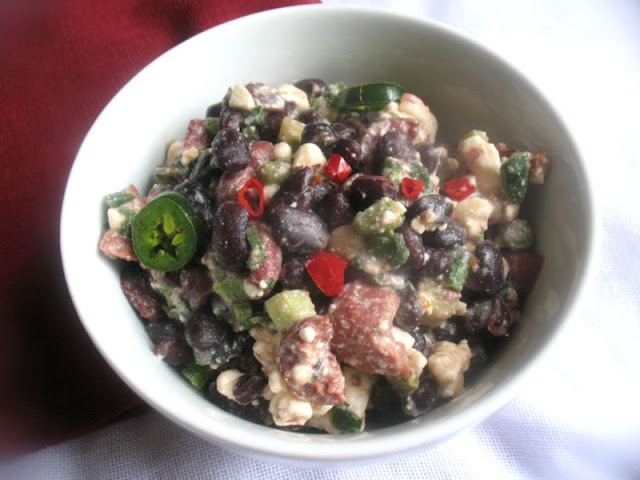 Black Bean Salsa with Feta
