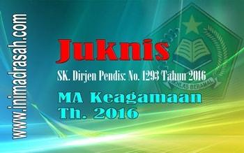 Download Keputusan DirJen Pendidikan Islam Nomor 1293 Tahun 2016