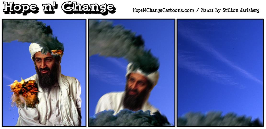 Osama bin Laden is dead, killed by US special forces, hopenchange, hope and change, hope n' change, stilton jarlsberg