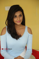 Anisha Ambrose Latest Pos Skirt at Fashion Designer Son of Ladies Tailor Movie Interview .COM 0888.JPG