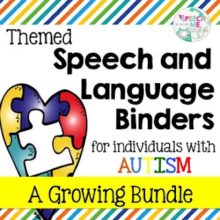 https://www.teacherspayteachers.com/Product/Themed-Speech-and-Language-Binders-2736230