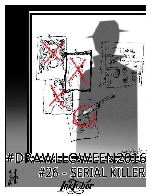 serial-killer-drawlloween-inktober-lucyowlart