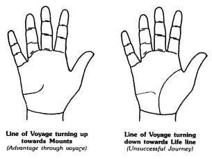 Sign Of Good & Bad Journey In Palmistry