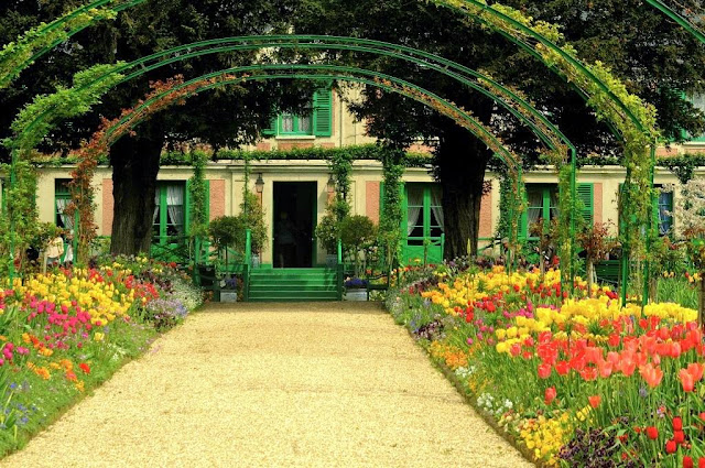 giverny, monets house,