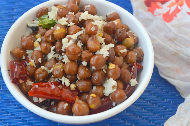 Black Channa Sundal | Kala Channa Sundal