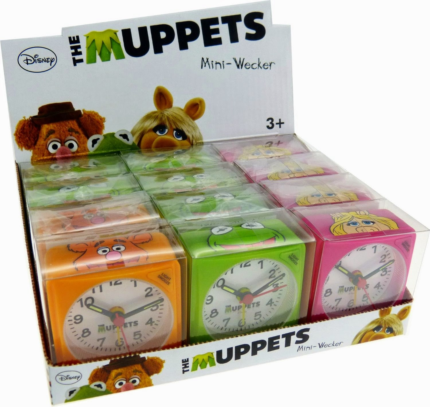 1000th Post Weekly Muppet Wednesdays Miss Piggy: Muppet Stuff: UK Technoline Muppet Alarm Clocks