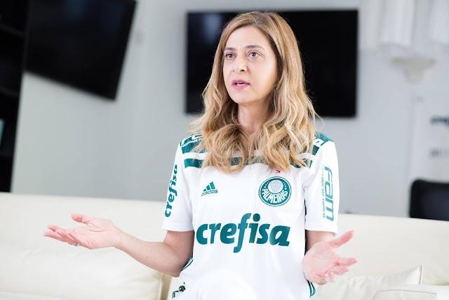 Não existem outras 'Crefisas' por falta de credibilidade dos clubes, diz Leila Pereira