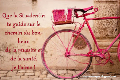 Que la St-valentin te guide sur le chemin du bonheur, de la réussite et de la santé. Je t'aime !