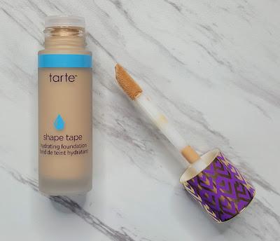 Tarte Shape Tape Matte Foundation vs Hydrating Foundation