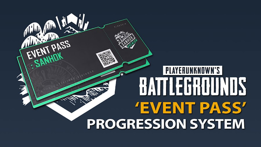 pubg event pass progression reward system