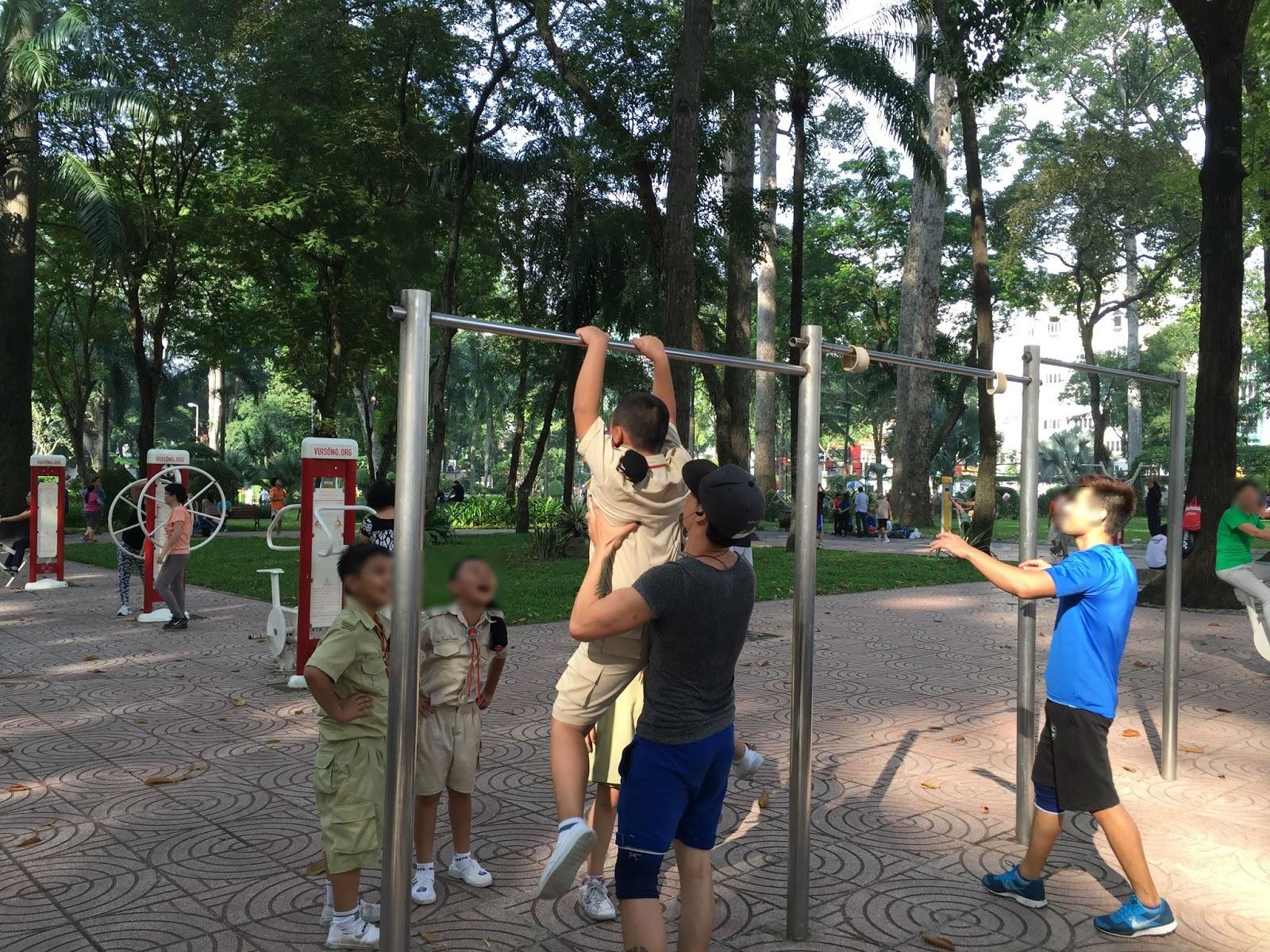 hcmc-vietnam-sport-park ベトナムの公園とアスレチック4