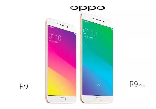 OPPO R9 And R9 Plus Smartphones Announced in China