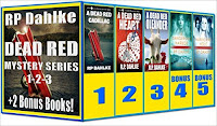 Boxed Set - 3 Dead Red Mysteries Plus 2 Bonus Books - Mystery, Romantic Suspense by RP Dahlke