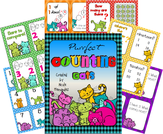 http://www.teacherspayteachers.com/Product/Purrfect-Counting-Cats-Common-Core-Kindergarten-Math-Centers-1041209