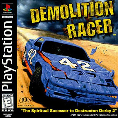 descargar demolition racer psx mega