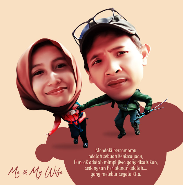 Karikatur Me & My Wife