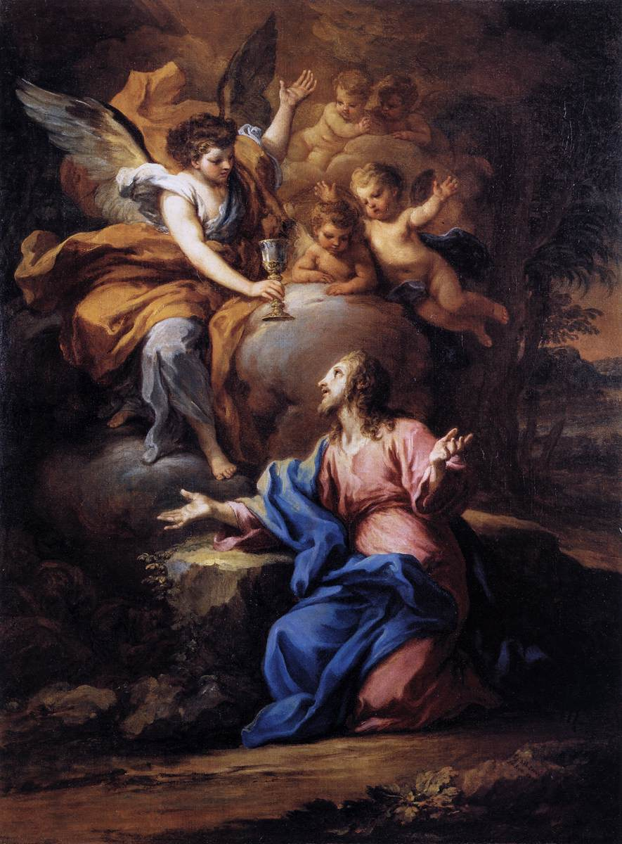 Ad imaginem dei the first sorrowful mystery the agony - Jesus in the garden of gethsemane ...