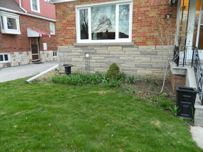 Scarborough Dorset Park front yard garden makeover before Paul Jung Gardening Services Toronto