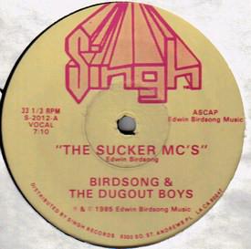 Birdsong Dugout Boys The Sucker MCs