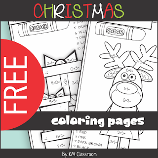 https://www.teacherspayteachers.com/Product/FREE-Christmas-Color-by-Number-Addition-within-10-3542570