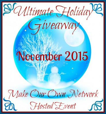 Enter the Ultimate Holiday Giveaway. Ends 11/20/15
