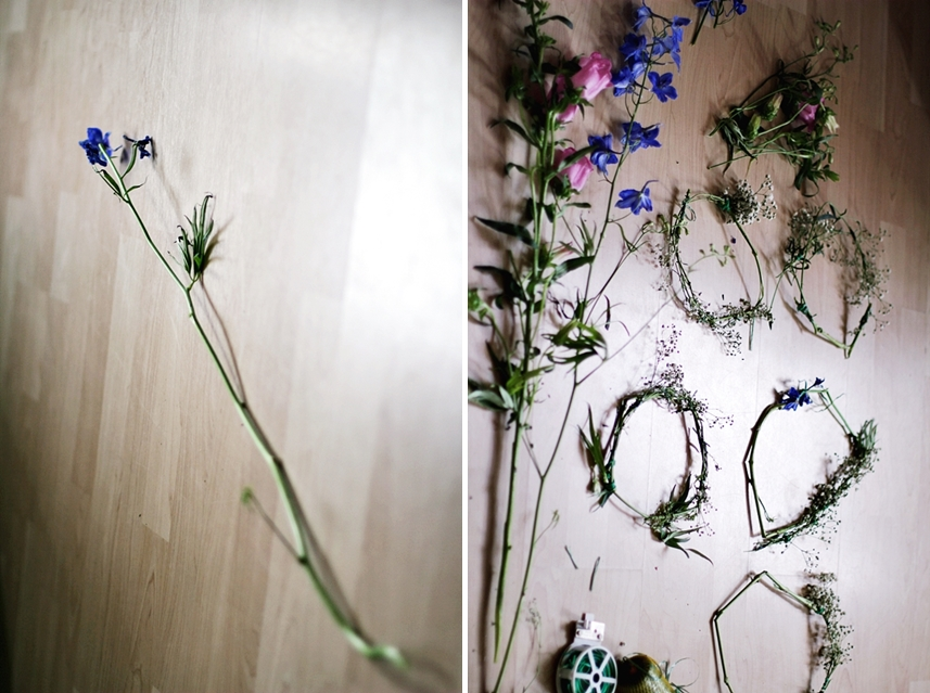 blumenstiel blüte binden hochzeit