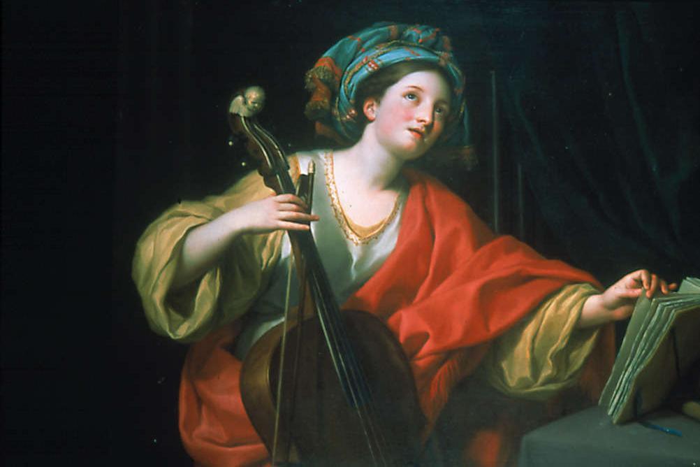 Anton Raphael Mengs   Saint Cecilia