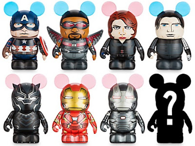 Captain America: Civil War Marvel Vinylmation Blind Box Series by Disney