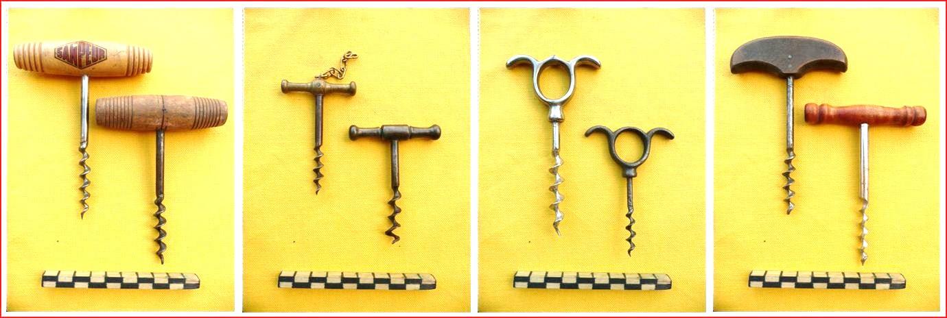 vieux outils et art populaire tire bouchon corkscrew sacacorcho. Black Bedroom Furniture Sets. Home Design Ideas