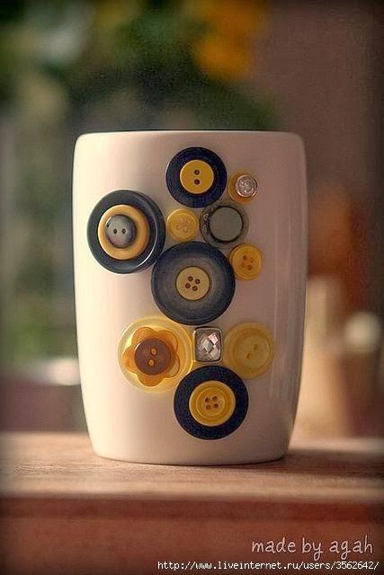 Поделки из пуговиц | crafts made of buttons