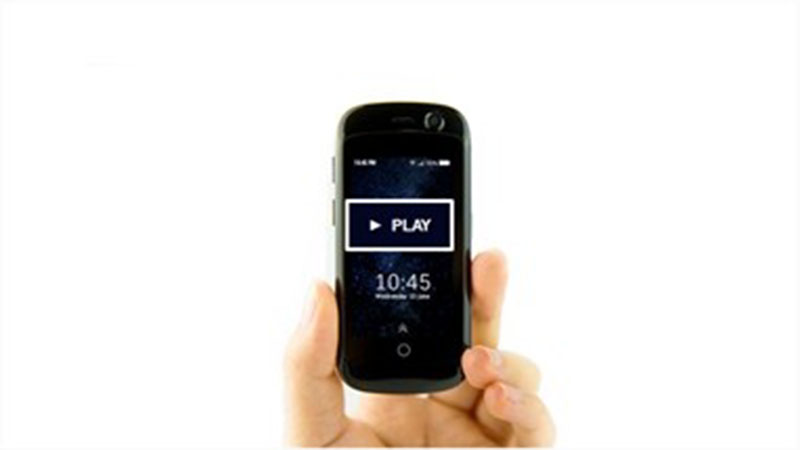 jelly phone أصغر هاتف فى العالم أندرويد 7.0 4G بالصور والفيديو