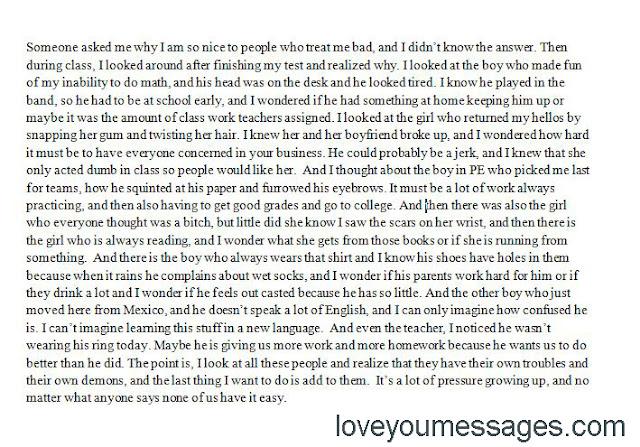 sad paragraphs about love