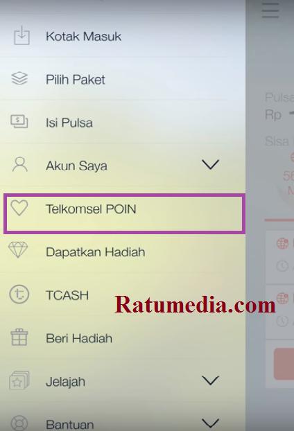 Cara Tukar Poin Telkomsel Dengan Paket Internet, SMS dan