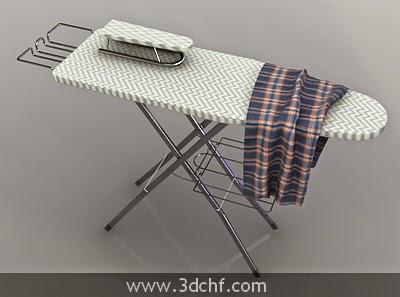 3d iron board model
