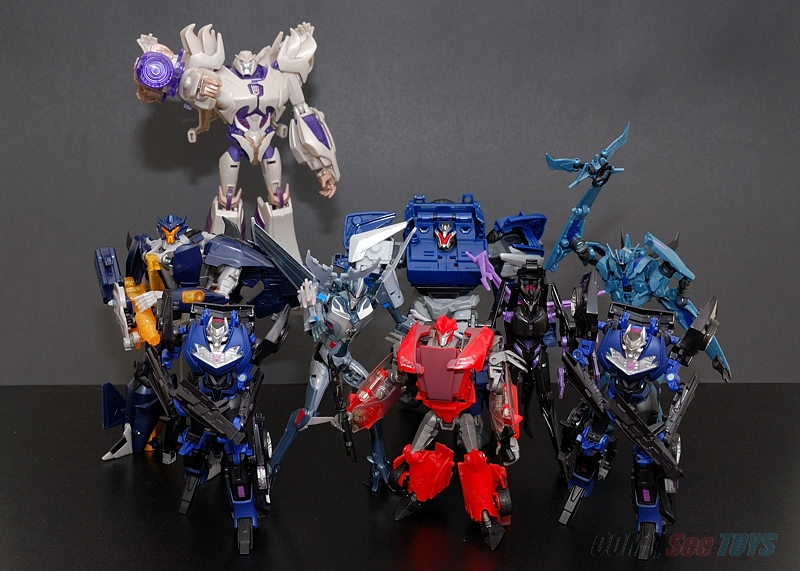 Come, See Toys: 200th Post: Transformers Prime Collection