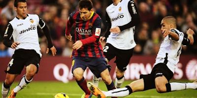 Hasil La Liga Spanyol Valencia vs Barcelona Tadi Malam Berakhir Duka Skor 1-2