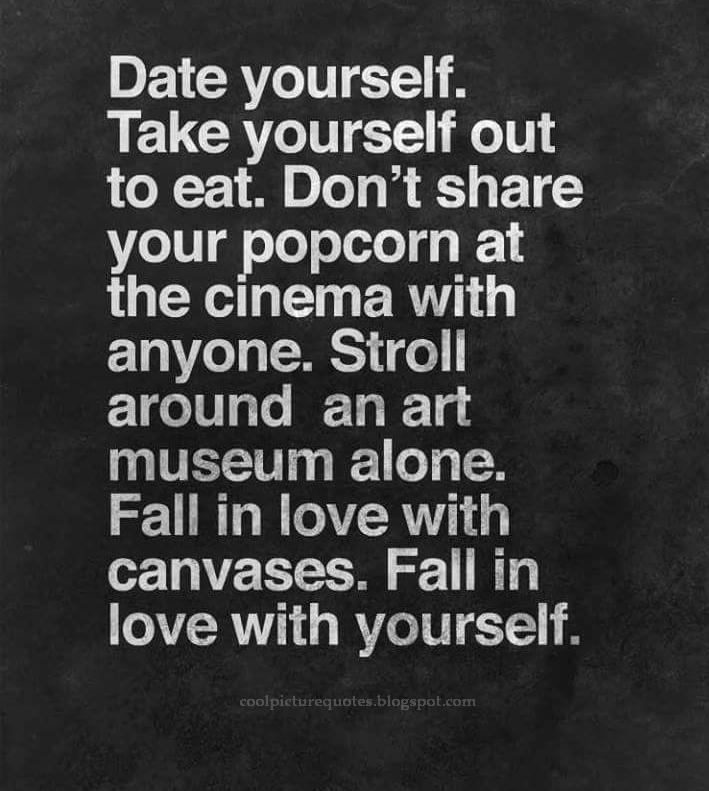 Fall In Love With Yourself Cool Picture Quotes