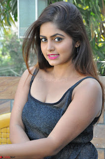 Pragya Nayan New Fresh Telugu Actress Stunning Transparent Black Deep neck Dress ~  Exclusive Galleries 049.jpg