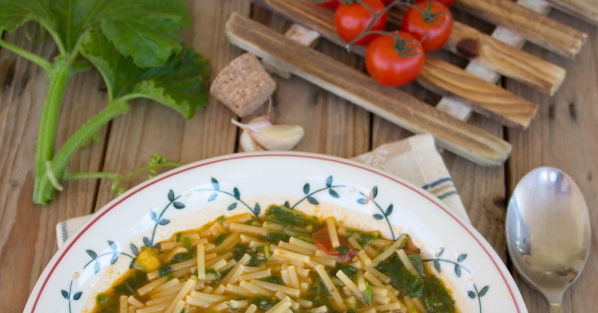 Ogni riccio un pasticcio blog di cucina minestra di for Casa tradizionale siciliana