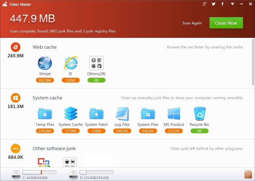 CleanMaster el limpiador para Windows - El Blog de HiiARA