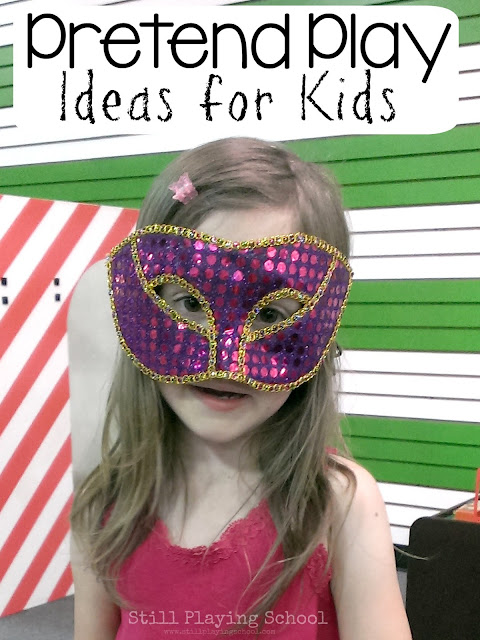 Dramatic dress up pretend play ideas for kids