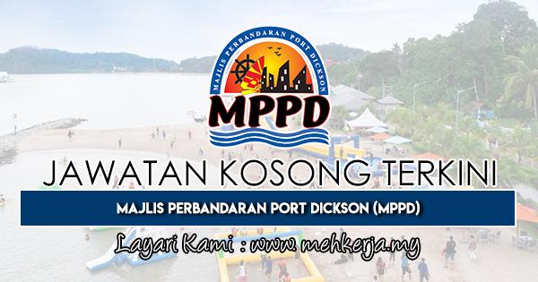 Jawatan Kosong Terkini 2019 di Majlis Perbandaran Port Dickson (MPPD)