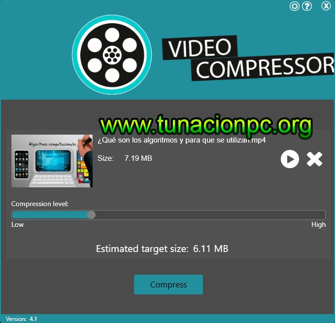 Abelssoft VideoCompressor Español