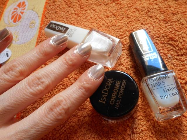 Miss Potingues: Uñas Espejo con Isadora Chrome Nails, ¡te va a encantar!