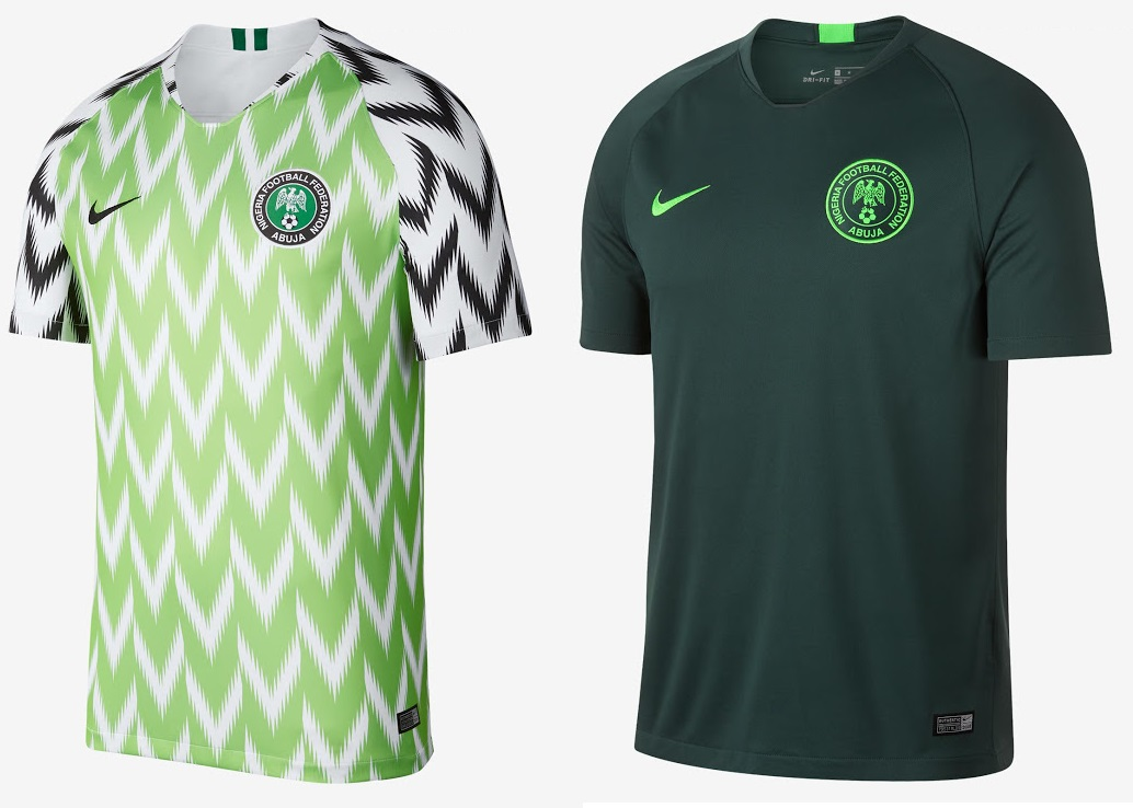 d1c7cc07ffb Since Nike released the official home away kits for Nigeria