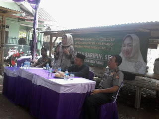 Reses Nurlaela Saripin : Perjuangkan Honor Amil