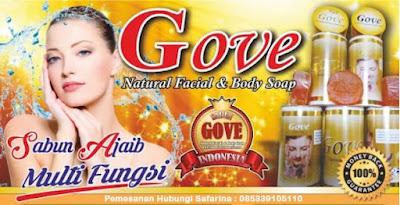 Sabun Gove - Informasi Harga, Manfaat dan Efek Sampingnya