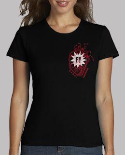 Camiseta Corazón Festivalero Chica