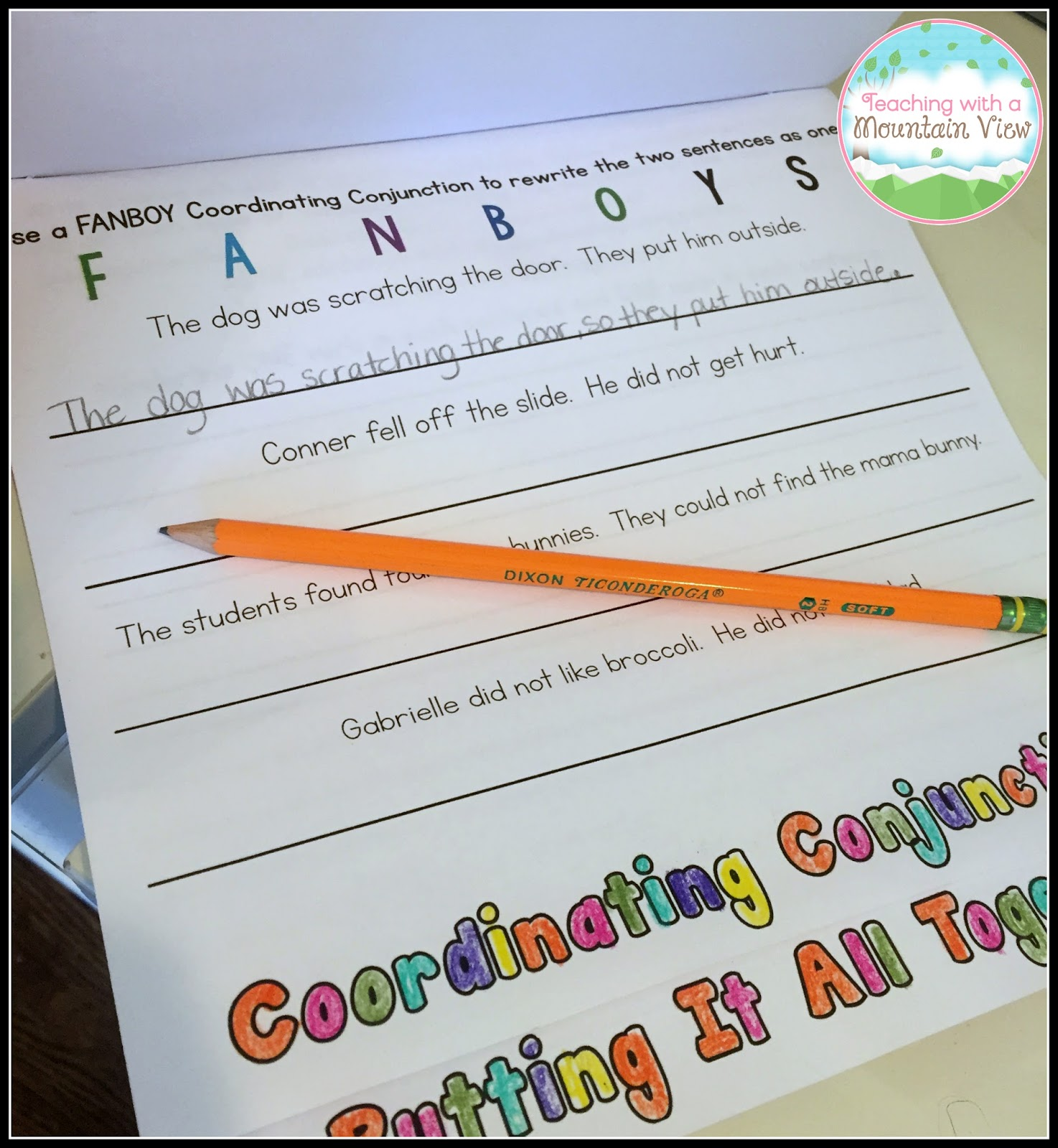 Coordinating Conjunctions And Compound Sentences